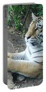 Tiger Portrait Portable Battery Charger