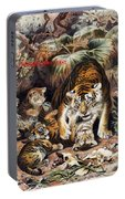 Tigers For Responsible Tourism Portable Battery Charger