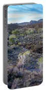 Tilt-shift Desert Wash Portable Battery Charger