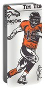 Tim Tebow 1 Portable Battery Charger
