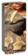 Timber Rattlesnake Horizontal Portable Battery Charger