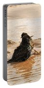 Time For A Mud Bath Portable Battery Charger