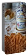 Time For Waffle Portable Battery Charger