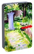 Time In A Garden Portable Battery Charger