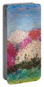 Time Of Rhododendron Portable Battery Charger