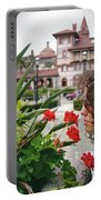 Time To Smell The Flowers Portable Battery Charger