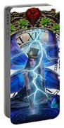 Time Travel Fairy Portable Battery Charger