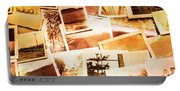 Time Worn Scenes And Places Background Portable Battery Charger