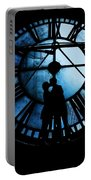 Timeless Love - Midnight Blue Portable Battery Charger