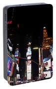 Times Square New York City New Years Eve Portable Battery Charger