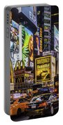 Times Square Pano Portable Battery Charger