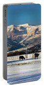 Timpanogos From The North Fields Portable Battery Charger