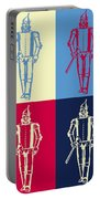 Tin Man Pop Art Poster Portable Battery Charger