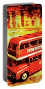 Tin Sign Travels Portable Battery Charger