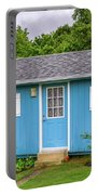 Tiny Blue House Portable Battery Charger