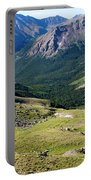 Tiny Hikers On The Mount Massive Summit Portable Battery Charger