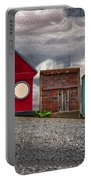 Tiny Houses On Walnut Street Portable Battery Charger