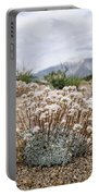 Tiny Mountain Blooms Portable Battery Charger by Margaret Pitcher