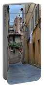 Tiny Street In Siena Portable Battery Charger