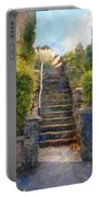 Tipsy Stairs Portable Battery Charger