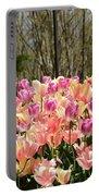 Tiptoe Among The Tulips Portable Battery Charger