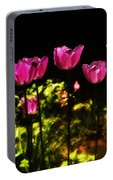 Tiptoe Through The Tulips Portable Battery Charger
