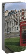 Titanic Hotel And Red Phone Box Portable Battery Charger