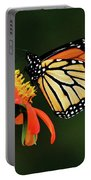 Tithonia Loving Monarch Portable Battery Charger