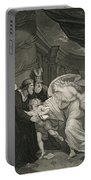 Titus's Garden. Lucius Pursued By Lavinia Portable Battery Charger