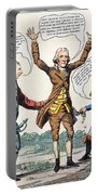 T.jefferson Cartoon, 1809 Portable Battery Charger