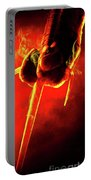 Tmnt 1   -  Raphael Smoky Red. Portable Battery Charger