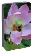 To Bee A Flower Portable Battery Charger