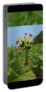 Tobacco Blossom Portable Battery Charger