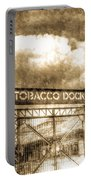 Tobaco Dock London Vintage Portable Battery Charger