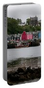 Tobermory Town Cityscape, Isle Of Mull Portable Battery Charger
