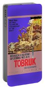 Tobruk Theatrical Poster 1967 Color Added 2016 Portable Battery Charger