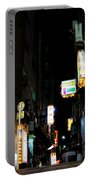 Late Night Alley Portable Battery Charger