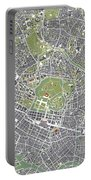 Tokyo City Map Engraving Portable Battery Charger