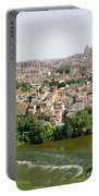 Toledo, Spain Panoramic View Portable Battery Charger by Arik Baltinester