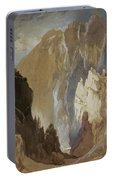 Toltec Gorge And Eva Cliff From The West, Colorado, 1892 Portable Battery Charger