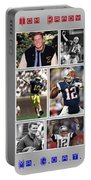 Tom Brady Football Goat Portable Battery Charger