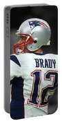 Tom Brady Patriots Super Bowl 2 Portable Battery Charger