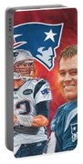Tom Brady - Quarterback Portable Battery Charger