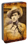 Tom Tyler, Vintage Western Actor Portable Battery Charger