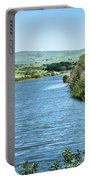 Tomales Bay In Point Reyes National Seashore Park Near San Franc Portable Battery Charger
