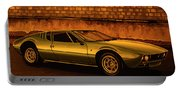 Tomaso Mangusta Mixed Media Portable Battery Charger