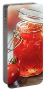 Tomato Jam In Glass Jar Portable Battery Charger