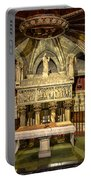 Tomb Of Saint Eulalia In The Crypt Of Barcelona Cathedral Portable Battery Charger