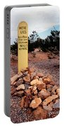 Tombstone Boot Hill Portable Battery Charger