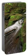 Tompkins Falls Catskills N.y.-7 Portable Battery Charger